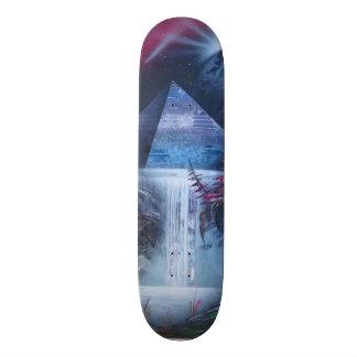 Pyramide-Skateboard 19,1 Cm Old School Skateboard Deck