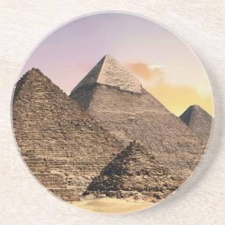 Pyramiden Getränkeuntersetzer