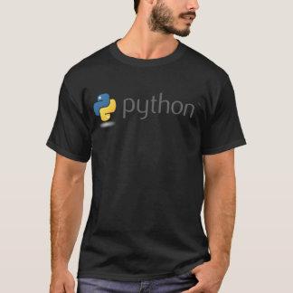 Pythonschlangelogoentwurf T-Shirt
