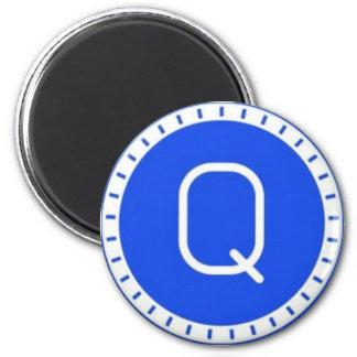 Qash Magnet Runder Magnet 5,1 Cm