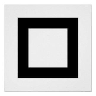 Quadrat 3 poster