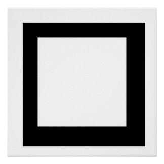 Quadrat Poster