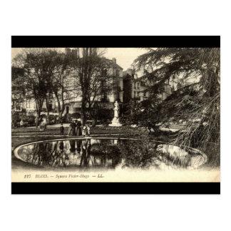 Quadratischer Victor Hugo BLOISE FRANKREICH Postkarte