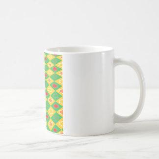 Quadratisches Thema Tasse