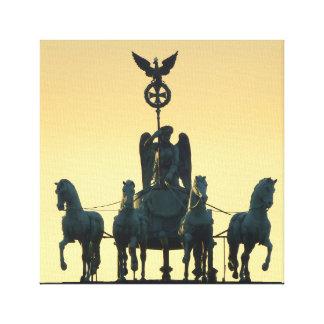 Quadriga-Brandenburger Tor 001, Berlin Galerie Faltleinwand