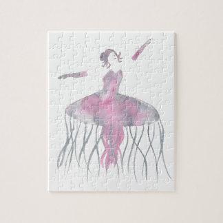 Quallen-Ballerina - Genevieve Puzzle