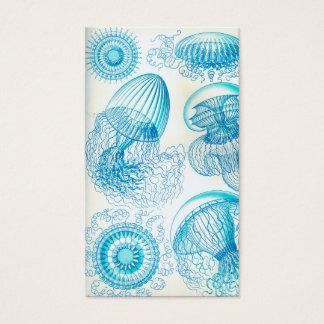 Quallen Ernst Haeckels Leptomedusae Visitenkarte