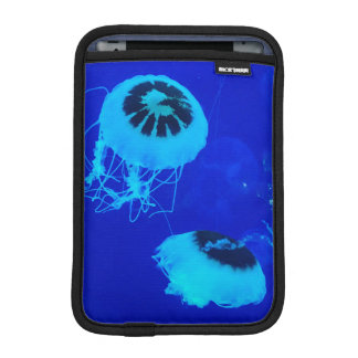 Quallen in Mexiko (blau) Sleeve Für iPad Mini