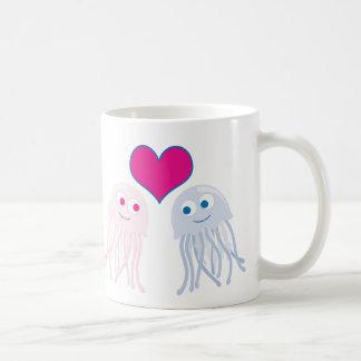 Quallen-Liebe Kaffeetasse