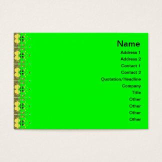 Quallen RGB-Gitter 2 umgewandelt Jumbo-Visitenkarten