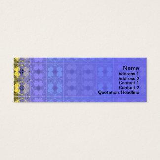 Quallen RGB-Gitter 2 umgewandelt Mini Visitenkarte