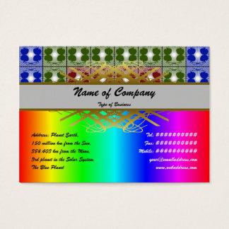 Quallen RGB-Gitter Jumbo-Visitenkarten