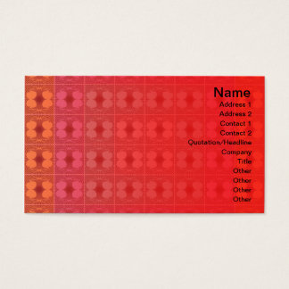 Quallen RGB-Gitter umgewandelt Visitenkarten