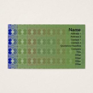 Quallen RGB-Gitter Visitenkarte