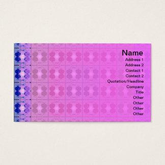 Quallen RGB-Gitter Visitenkarten