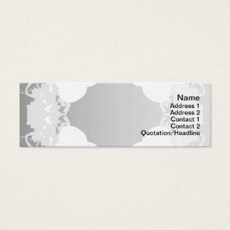 Quallen WGB gedreht Mini Visitenkarte