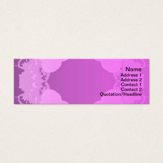 Quallen WGB gedreht Mini-Visitenkarten