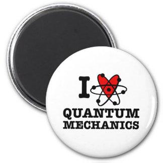 Quantums-Mechaniker Runder Magnet 5,1 Cm