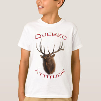 Quebec-Haltung T-Shirt