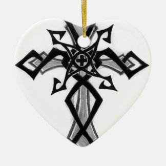 Querentwurf Keramik Herz-Ornament