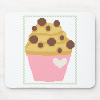 Querstich-Schokoladensplittermuffin Mousepad