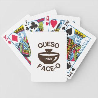 Queso in meinem Gesicht-O Poker Karten