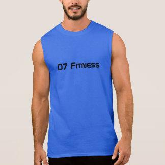 QuicKz - blaues Fitness-Shirt Ärmelloses Shirt