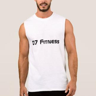 QuicKz - weißes Shirt der Fitness-D7