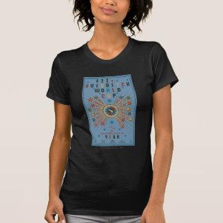 QUIDDITCH™ Weltmeisterschaft-Blau-Plakat T-Shirt