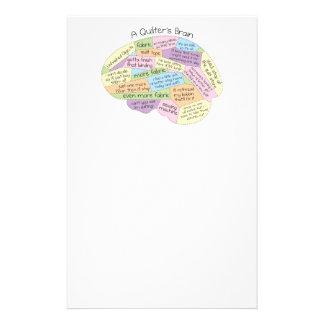Quilters Gehirn Individuelle Druckpapiere