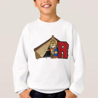 R ist für römischen Soldaten Sweatshirt