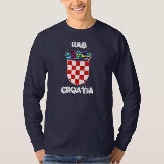 Rab, Kroatien mit Wappen Tshirts