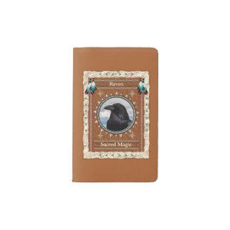 Rabe - heilige magische moleskine taschennotizbuch