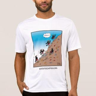 Raben-Felsen-Lauftech-Shirt T-Shirt