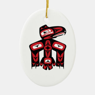 Raben-Geist Keramik Ornament