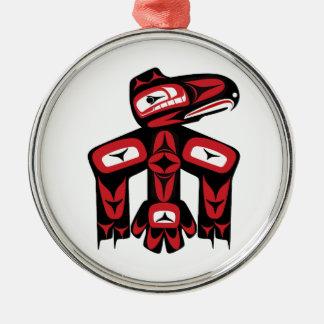Raben-Geist Silbernes Ornament