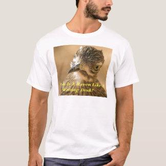 Raben und Schreibtische T-Shirt