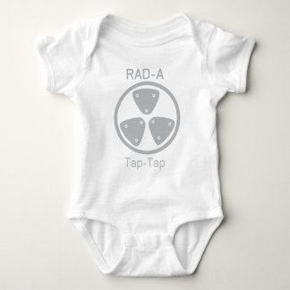 RAD-A Angestochene-Stechen an Baby Strampler