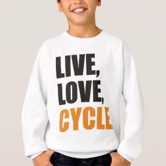 Radfahren Sweatshirt