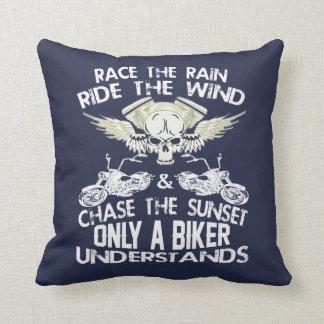 Radfahrer-Code Kissen