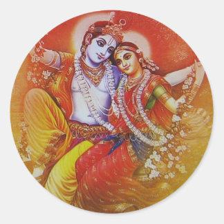 Radha Krishna Aufkleber