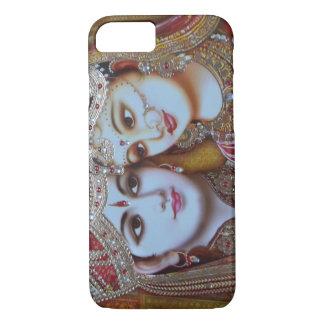 Radha Krishna dargestellter IPhone 6 Kasten iPhone 7 Hülle