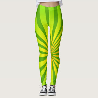 Radiale Green Leggings