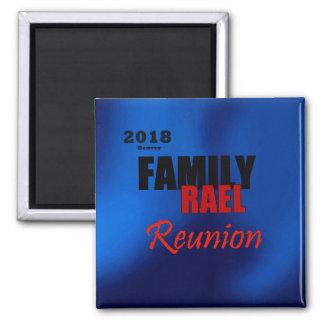 Rael Familien-Wiedersehen Denver Quadratischer Magnet