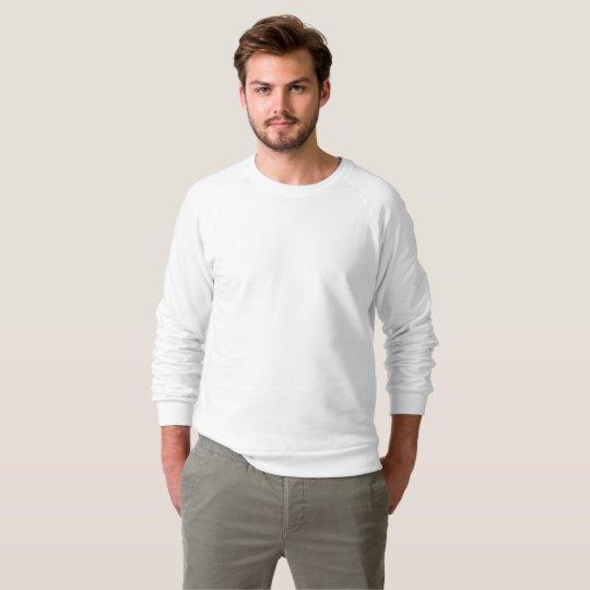 Männer American Apparel Raglansweatshirt