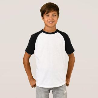Raglan-T - Shirt der Jungen kurzer die Hülse