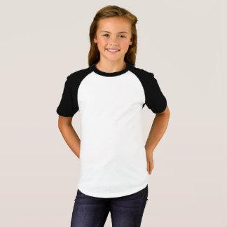 Raglan-T - Shirt der Mädchen kurzer die Hülse