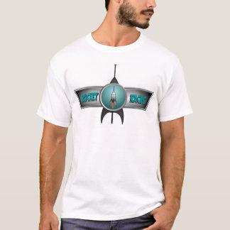Raketen-Rennläufer - volles Explosionsblau T-Shirt