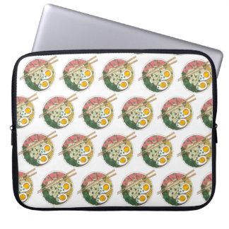 Ramen-Nudel-Schüssel-japanischer Laptopschutzhülle