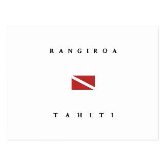 Rangiroa Tahiti Postkarte